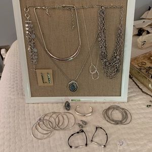 13 Piece Chloe + Isabel Silver Set